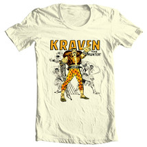 Kraven Hunter T-shirt retro comic villain marvel comics sinister six graphic tee image 2