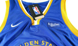STEPHEN CURRY / AUTOGRAPHED GOLDEN STATE WARRIORS BLUE PRO STYLE JERSEY / COA image 6