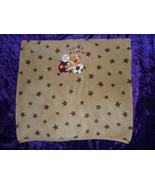 Kohls Just Born Baby Brown Tan Fleece Little All Star Plush Baby Blanket  - $24.74