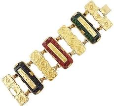 1980s Robert Rose Gripoix Runway Couture Bracelet  - $115.00