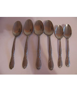 FLATWARE VINTAGE SUPERIOR STAINLESS USA SIX PIE... - $14.84