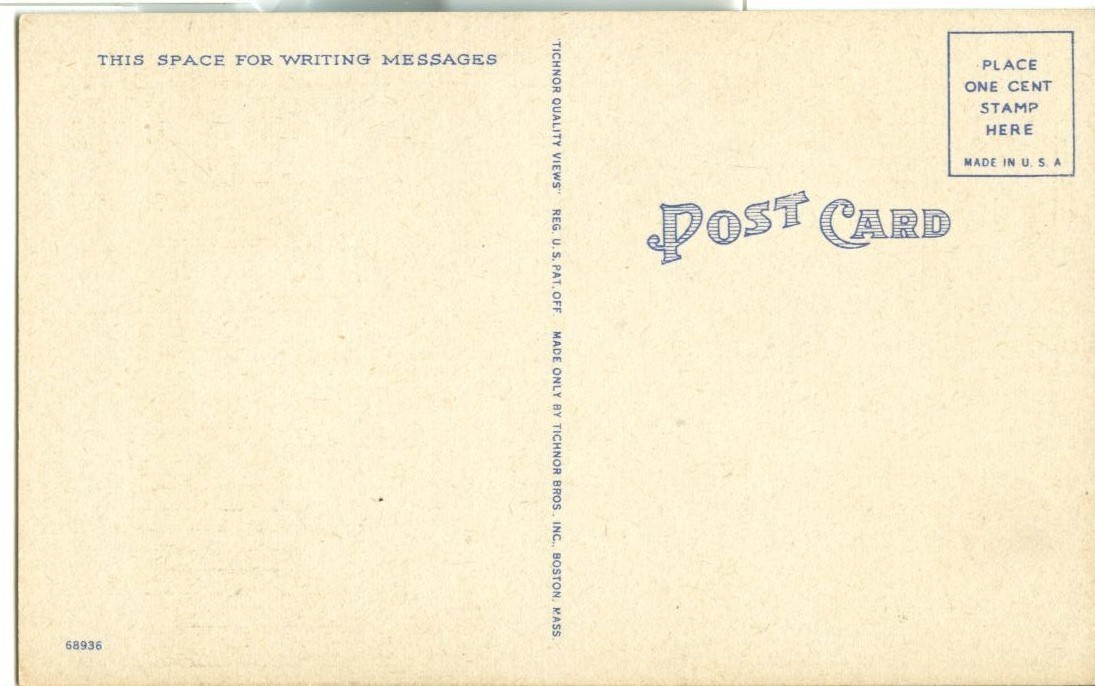 Pilgrim Congregational Church, Harwichport, Cape Cod, Mass unused linen Postcard