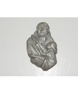 Pewter High Relief  Plaque USA SSI Pewter Native American  - $19.99