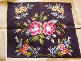 Vintage Needlework - Roses - $20.00