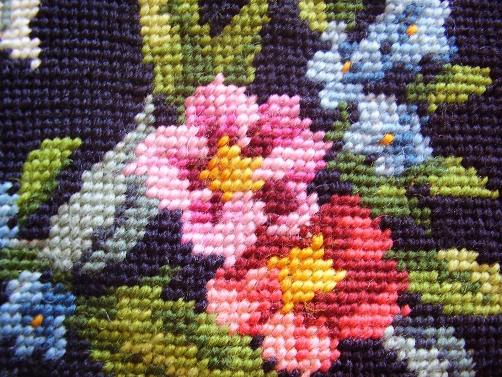 Vintage Needlework - Roses image 2