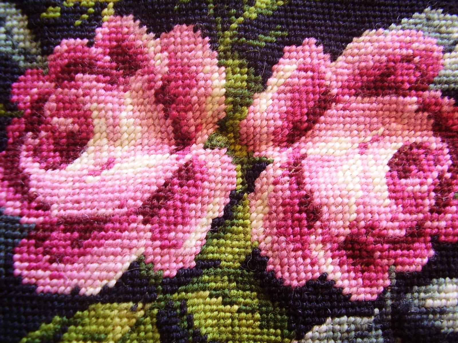 Vintage Needlework - Roses image 3