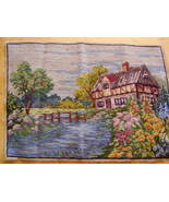 Vintage Needlework - Country Home - $20.00