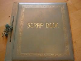Scrapbook Cover - Vintage 1930's  - $15.00