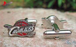 Cleveland Cavaliers Basketball Cufflinks - Wedding, Graduation, Dad's Gifts - $3.95