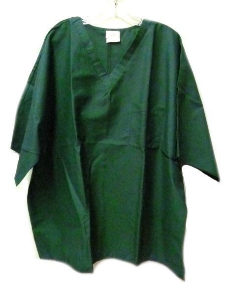 Primary image for Flagstaff Industries Hunter Green XXS V Neck One Pocket Scrub Top Unisex New