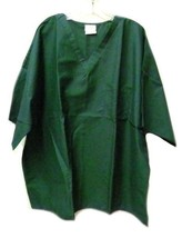 Flagstaff Industries Hunter Green XXS V Neck One Pocket Scrub Top Unisex... - $17.61