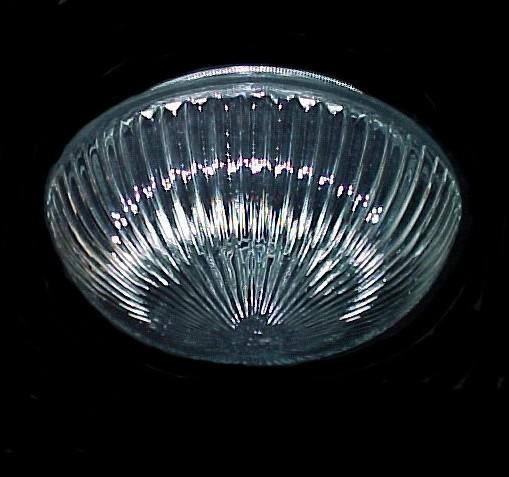 5 3/4 X 3 3/4 X 7 1/4 Ceiling Light Shade Clear Glass Pan Globe