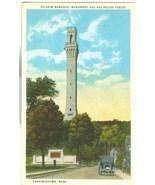 Pilgrim Memorial Monument and Bas Relief Tablet, Provincetown, Mass, pos... - $4.99