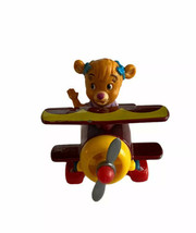 Vtg Disney Talespin Plane Molly Cunningham Red Airplane Diecast Toy 90s ... - $9.89
