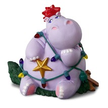 2018 Hallmark I Want A Hippopotamus For Christmas Ornament Magic Musical - $28.90