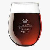 Crown Established Custom Stemless Wine Glass - $12.99