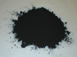 920-01 Black Concrete Cement Powder Color 1 lb. Makes Stone Pavers Tiles Bricks  image 1
