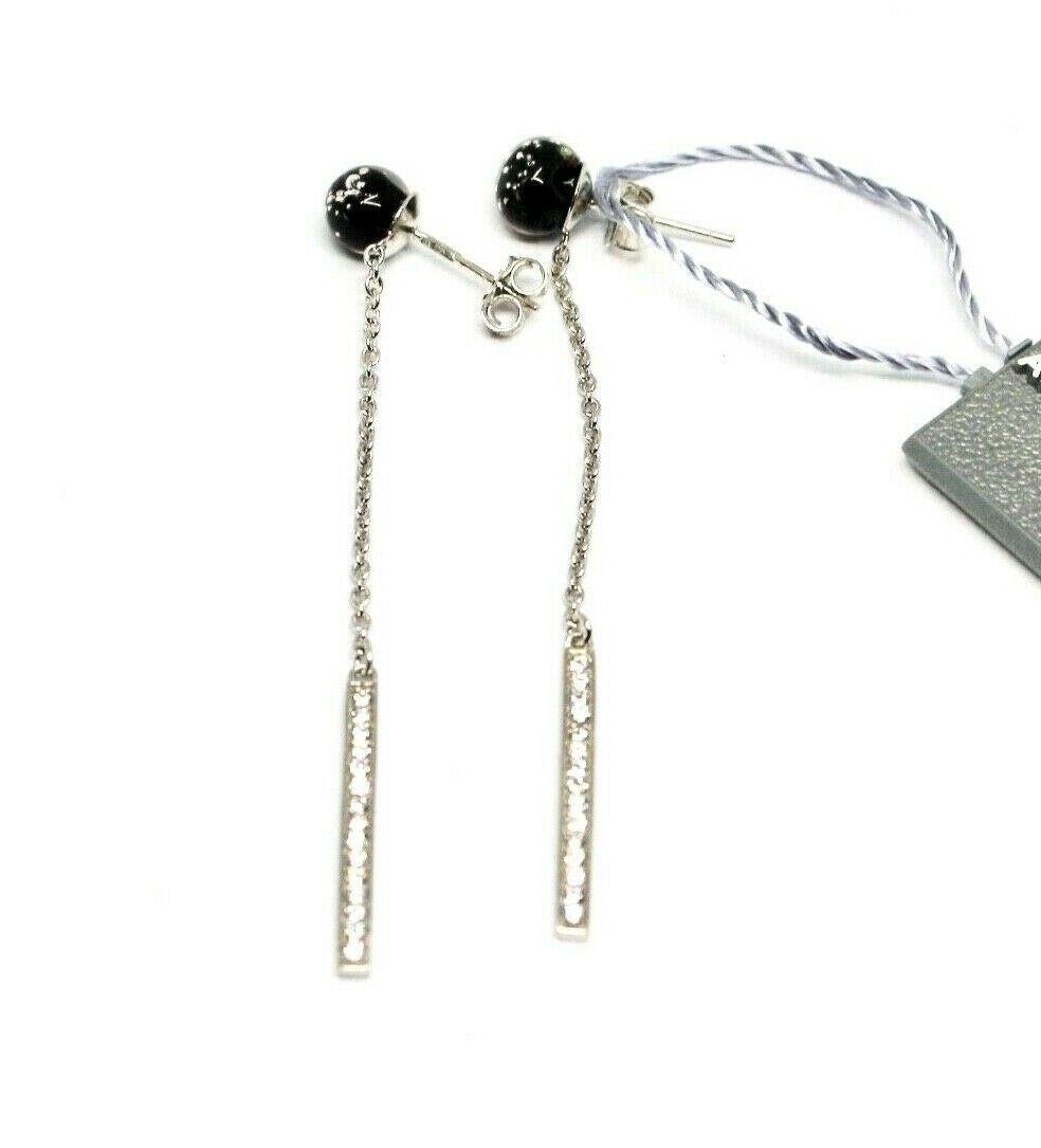 Earrings Antique Murrina Venezia 925 Silver Murano Glass Charms Bead