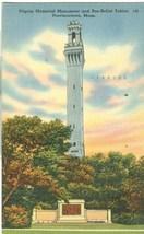 Pilgrim Memorial Monument and Bas-Relief Tablet, Provincetown, Mass, pos... - $4.99