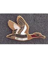 Old Red Neck Brown Duck Cloisonne Lapel Pin Pinback - $5.00