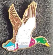 Old Green Neck Duck Cloisonne Lapel Pin Pinback - $5.00