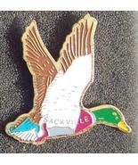 Old Green Neck Duck Cloisonne Lapel Pin Pinback - $5.00
