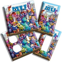 Monsters Inc University Mike Sully Light Switch Cover Outlet Kids Room Decor Art - $8.99+