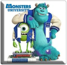 MONSTERS UNIVERSITY MIKE SULLY LIGHT SWITCH COVER OUTLET BOYS ROOM DECOR... - $8.99+
