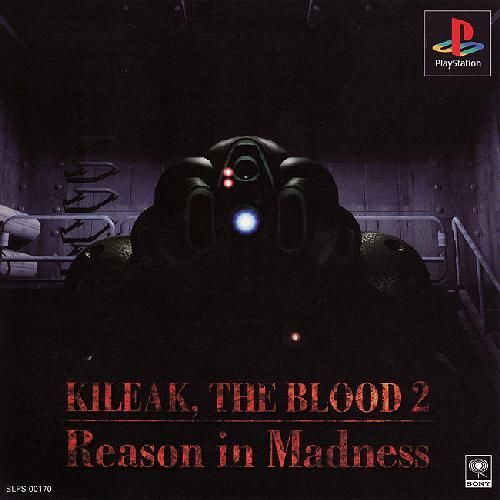 Kileak - The Blood 2 - Reason in Madness, Playstation One PS1, Import Japan Game