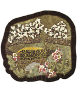 Quiet Pond: Quilted Art Wall Hanging, Oriental fabrics - $8.729,86 MXN