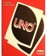 Vtg 1983 UNO Card Game w Instructions FREE SHIPPING - $19.95