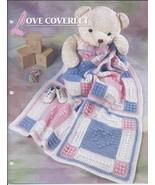 Love Coverlet Afghan Crochet Pattern~Annie's Quilt & Afghan Club - $29.99