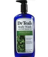 1 Count Dr. Teals Pure Epsom Salt Eucalyptus Spearmint Relax Body Wash 2... - $19.99