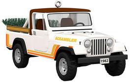 Hallmark  1982 Jeep CJ-8 Scramber  All-American Trucks  Series 25 Orname... - $17.48