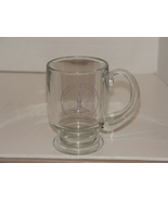 University of Wisconsin Stevens Point Glass Coffee/ Beer Mug Holds 16 oz. - $8.00