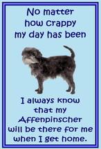 Affenpinscher - Novelty dog fridge magnets - No matter - $3.94