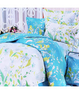 [Blooming Orchid] 5PC Comforter Set Combo (Queen Size) - $156.98