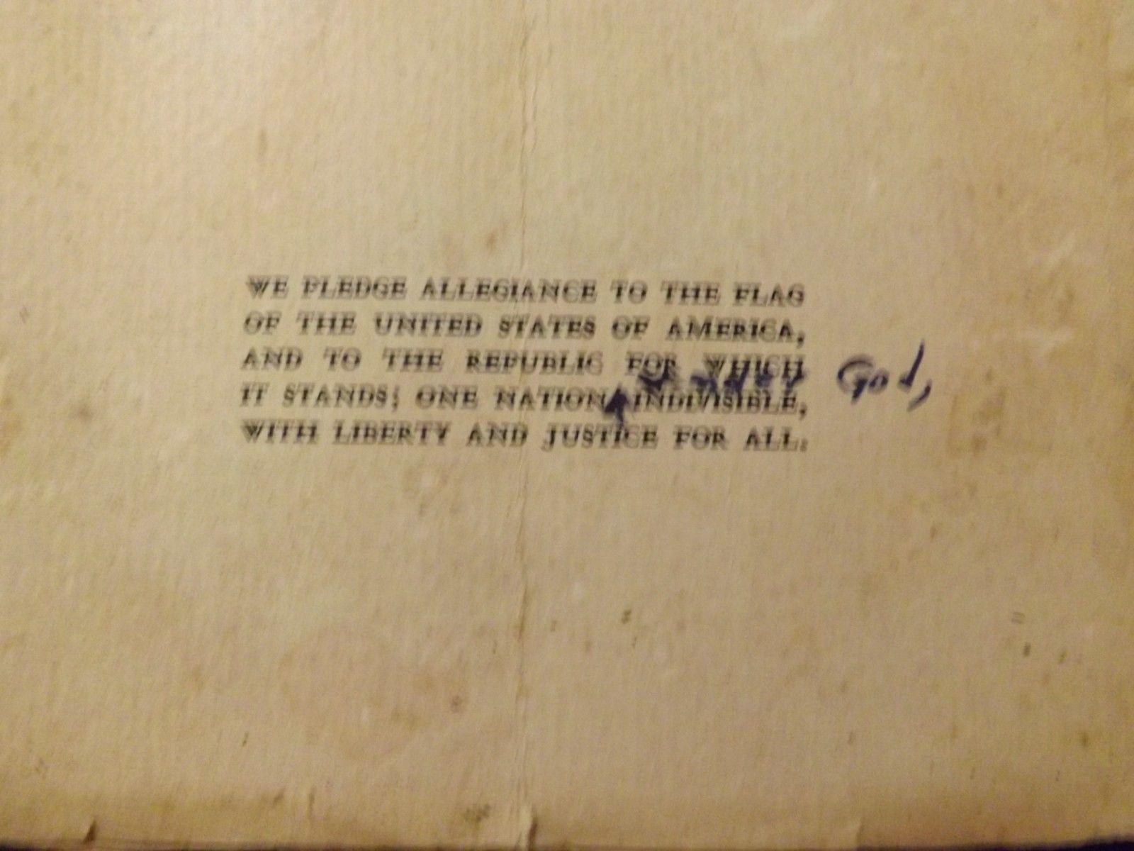 Vintage Order of Elks vest with pins, 1951/52 booklets flag and letter of accept image 5