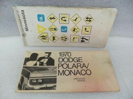 Dodge Monaco 1970 Owners Manual 16327 - $18.76
