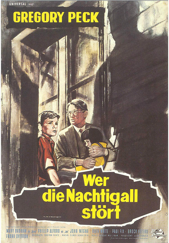 To kill a mockingbird poster 11x17 german poster