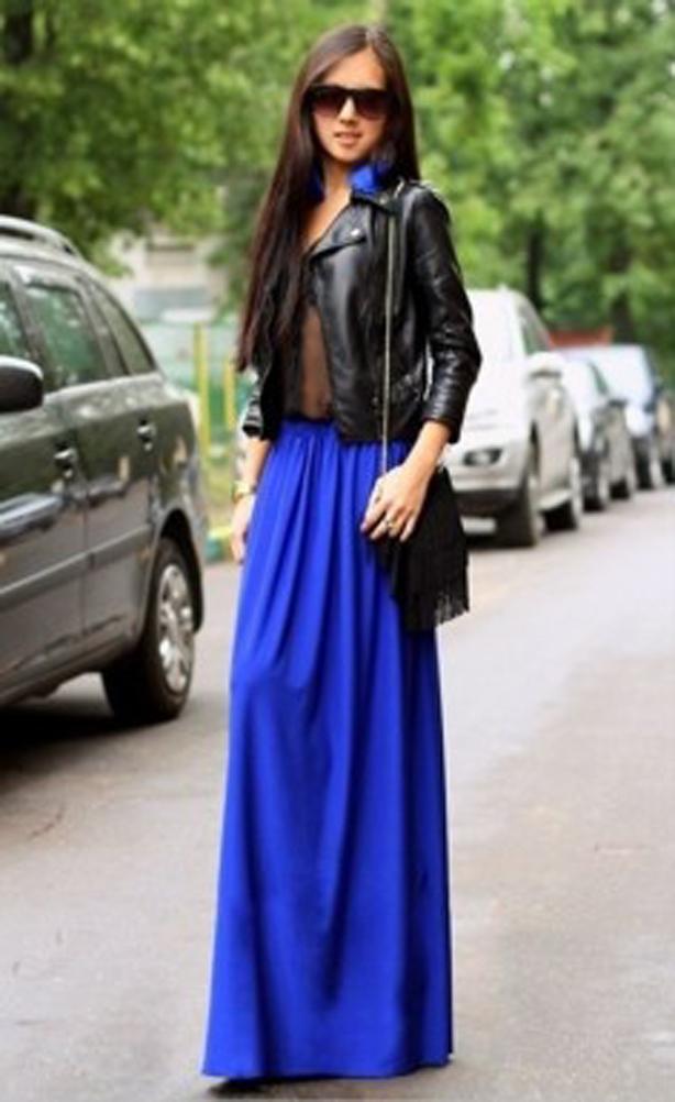 Feminine Fall. Khaki Chiffon Maxi Skirt. Fall Winter Long ...