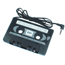 Car Cassette Tape Player for MP3/MP4/CD/DVD/PDA/MD/ipod AUX BLACK - $4.93