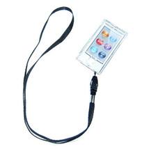 Clear Crystal Hard case for ipod Nano 7th Gen 7G + detachable Strap - $4.94