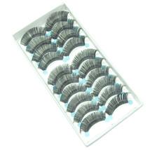 LOT of 50 pairs Clam Curved Makeup False EyeLashes A6 Handmade A+ grade - $17.81
