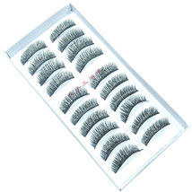 LOT of 100 pairs Long Makeup False EyeLashes A8 Handmade - $24.49