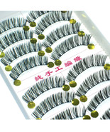 LOT of 100 pairs Charm Makeup False EyeLashes A7 Handmade A+ grade - $33.65
