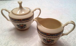 Lenox Autumn Sugar and Creamer, Vintage ~ MINT, Never Used - $265.00