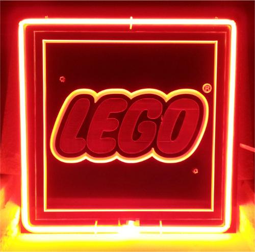 Lego 3D Acrylic Beer Bar Neon Light Sign 10'' x 10'' - Neon