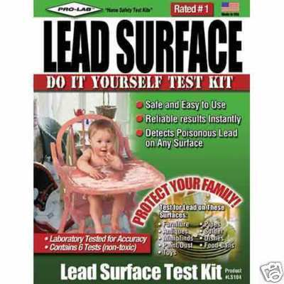 Lead Test Kit - Test for Lead on Surfaces, fast results