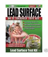 Lead Test Kit - Test for Lead on Surfaces, fast results - $12.00